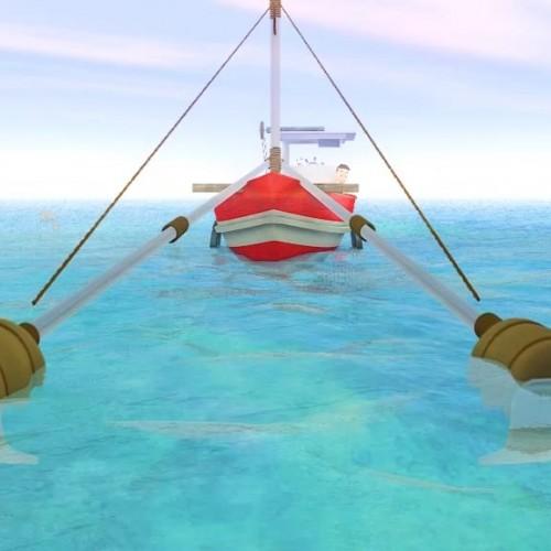 Cartoon 3D animation กรมทรัพยากรทางทะเล ตอน มิตรภาพ จากมหันตภัยอวนรุน