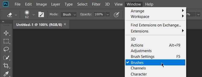 วิธีติดตั้ง Brushes ใน Adobe Photoshop CC !! | Dynamicwork