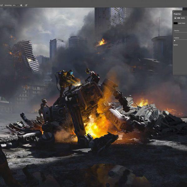 Concept Art แบบ 360 องศา กระบวนการใหม่ของงานออกแบบเกม และภาพยนต์ !!