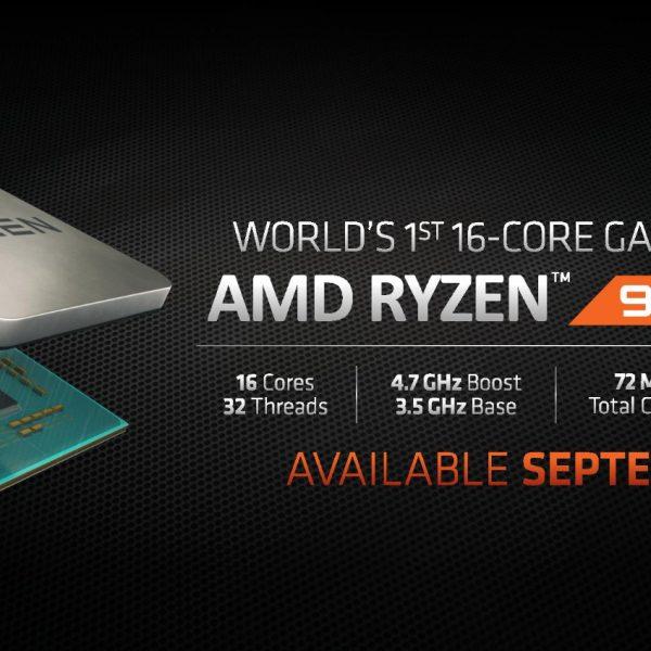 AMD โชว์ Ryzen 9 และ Navi สุดยอด High-End CPU & GPU สำหรับใช้ตบตีกับ Intel โดยเฉพาะ !!