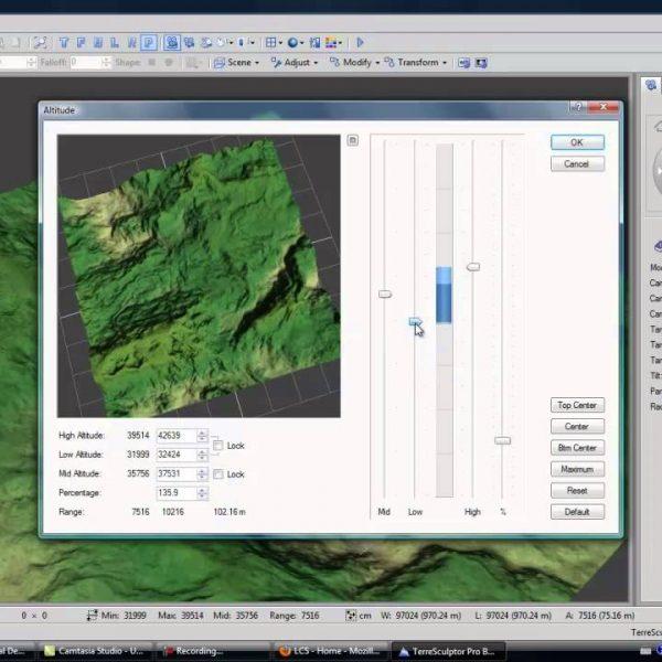 TerreSculptor 2.0 โปรแกรมสร้าง Terrain ดาวน์โหลดฟรี !!